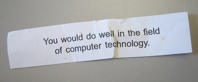 computer fortune cookie